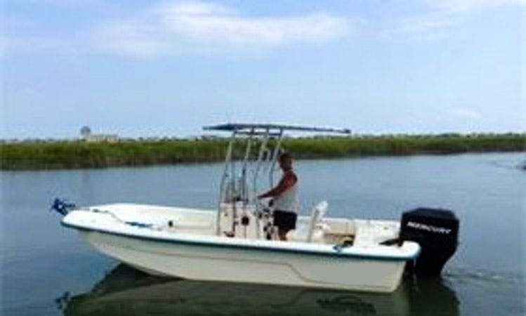 "18ft ""Sundance"" Center Console Boat Fishing Charter in Myrtle Beach, South Carolina"