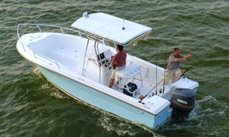 Rent 22' Angler Fishing Boat In Islamorada, Florida