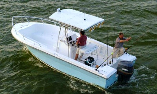 Rent 22' Angler Fishing Boat In Islamorada, Florida