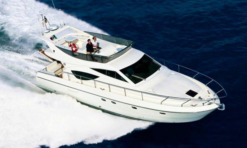 Charter 43' Ferretti 430 Motor Yacht in Marbella, Spain