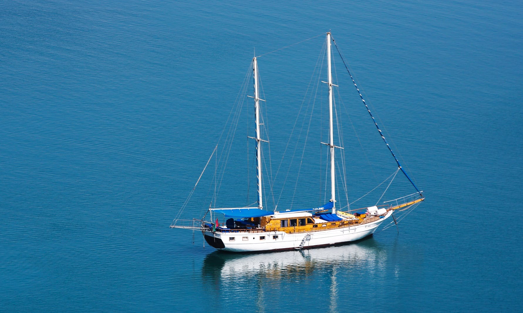 Charter a Sailing Gulet in Abu Dhabi, United Arab Emirates