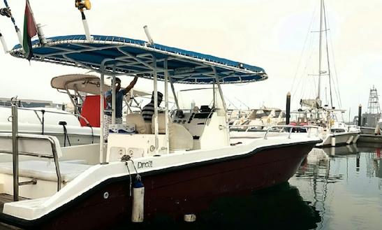 Enjoy Fishing In Dubai, United Arab Emirates On 35' Dino Center Console