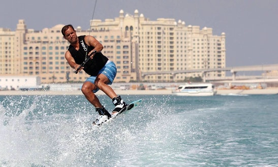 Enjoy Wakeboarding In Dubai, United Arab Emirates