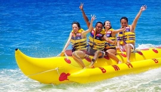 Banana Rides, Donut Rides And U Tube Rides!