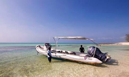 Charter 26' Samsuri Rigid Inflatable Boat In Paje, Tanzania