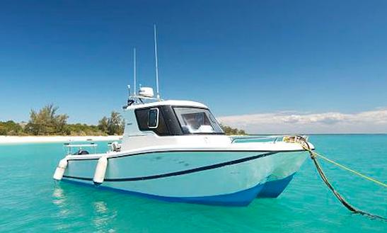 Enjoy Fishing In Paje, Tanzania On 28' Saangue Power Catamaran