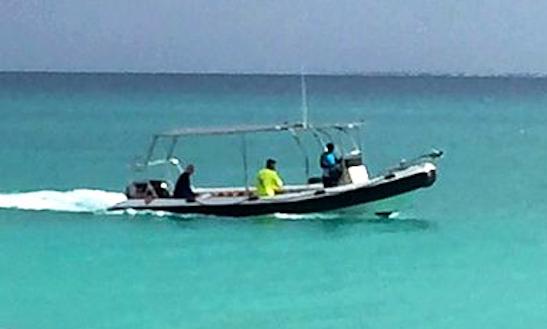 Charter 26' Sukwe Rigid Inflatable Boat In Paje, Tanzania