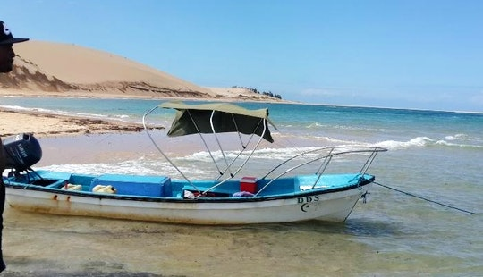 Fishing Dream In Vilanculos, Mozambique On A Dinghy