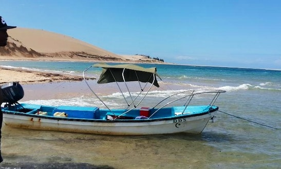 Enjoy Fishing In Vilanculos, Mozambique On A Dinghy