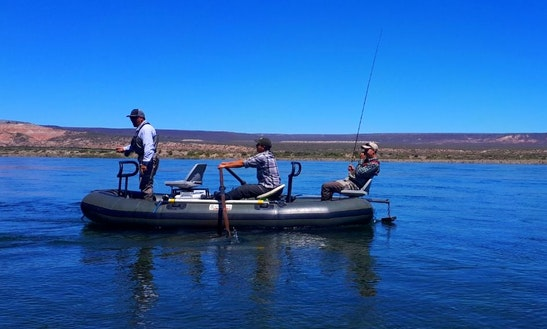 Enjoy Fishing In Neuquen, Argentina On Dinghy