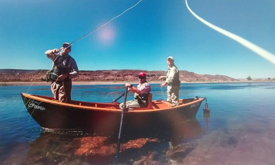 1 Or 2 Person Fishing Trips In Neuquen, Argentina On Dinghy