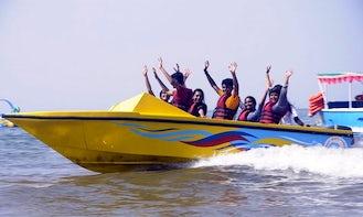 Enjoy Jet Boat Rides in Malvan, India