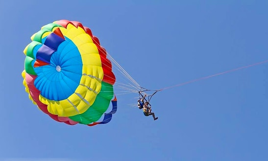 Have An Amazing Parasailing Experience In Zakinthos, Greece