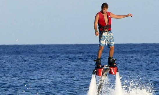 Enjoy Flyboarding In Zakinthos, Greece