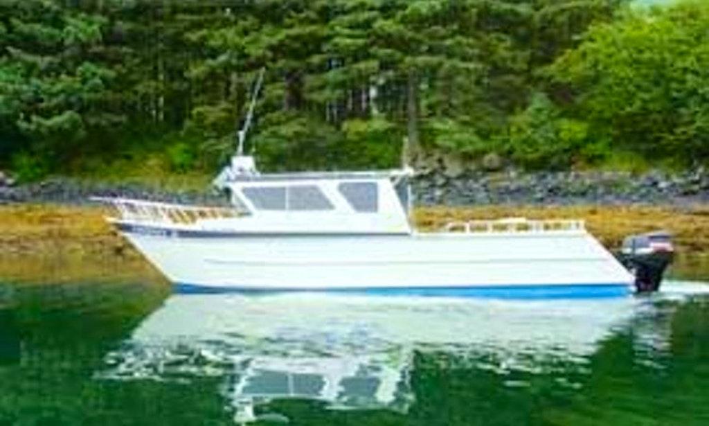 37 39 deck boat rental in kodiak alaska getmyboat for Kodiak fishing charters