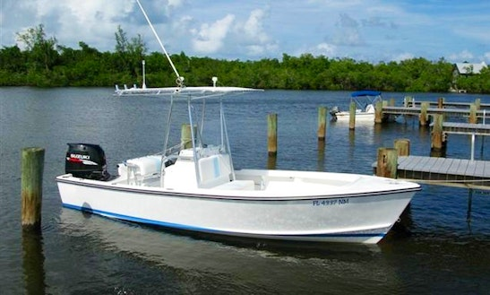 Enjoy Hope Town, The Bahamas On 20ft  Albury Center Console