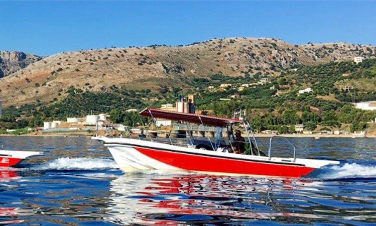 Charter 30' Pikilos Center Console in Iraklio, Greece