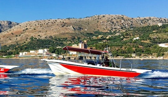 Charter 30' Pikilos Center Console In Iraklio, Greece