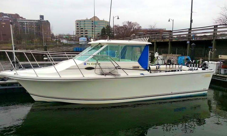 Boat Fishing Charter in Erie