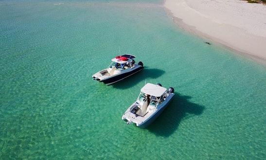 Motor Vessel In Providenciales,turks And Caicos Islands