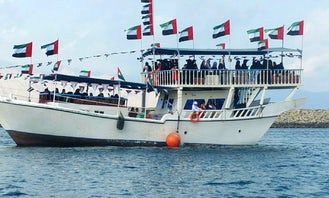 Charter a Traditional Boat in Fujairah, United Arab Emirates