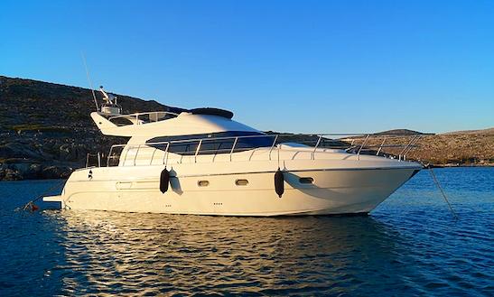 Charter 44' Azimut Motor Yacht In Limenas Chersonisou, Greece