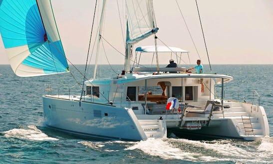 Charter 45' Lagoon Cruising Catamaran In Cienfuegos, Cuba