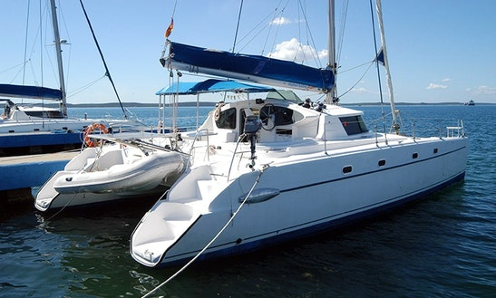 Charter 43' Belize Cruising Catamaran In Cienfuegos, Cuba