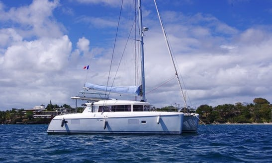 Charter This 9 Persons 42' Lagoon Cruising Catamaran In Cienfuegos, Cuba