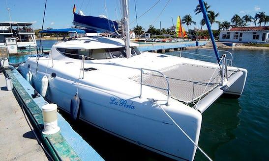Charter 38' Athena Cruising Catamaran In Cienfuegos, Cuba