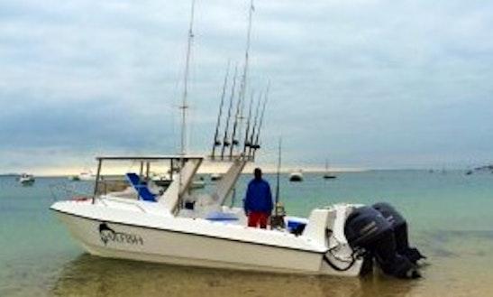 Enjoy Fishing In Vilanculos, Mozambique On 27' Sailfish Center Console