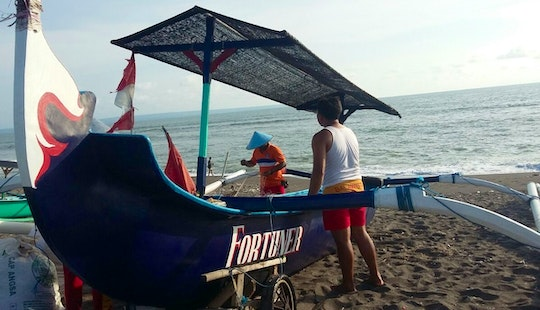 Charter Fortuner Traditional Boat In Mengwi, Bali