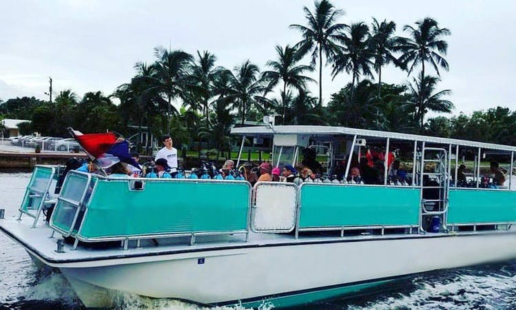 Greater Fort Lauderdale Snorkeling Trip  Aboard Glassbottom Catamaran