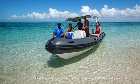 Charter A Rigid Inflatable Boat In Vilanculos, Mozambique