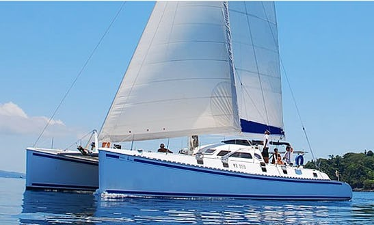 Charter 55' Cruising Catamaran In Nosy Be, Madagascar