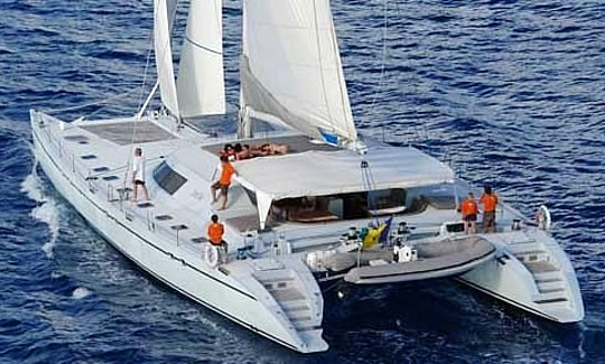Charter 85' Cruising Catamaran In Cape Town, South Africa