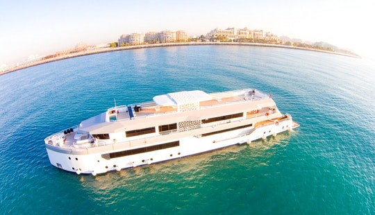 Charter 155' Corporate Power Mega Yacht In Dubai, Uae