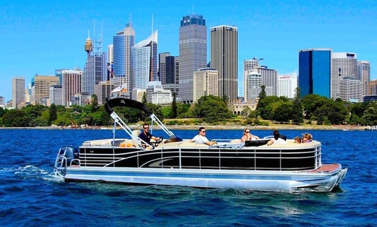 Enjoy The Floating Lounge On Sydney Harbour