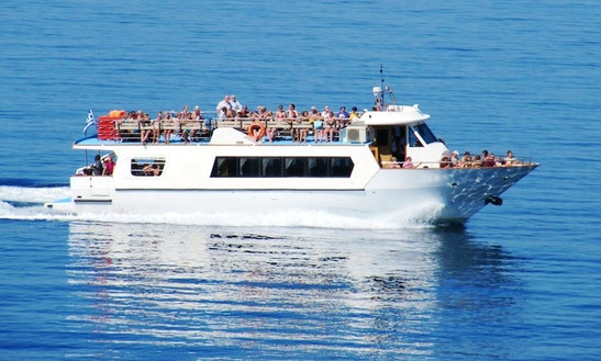 Glass Bottom Boat Cruises In Kefallonia