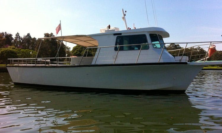 Sydney Deep Sea Reef Fishing Charter with Skipper Adam