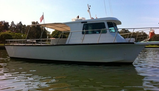 Sydney Deep Sea Reef Fishing Charter With Skipper Adam