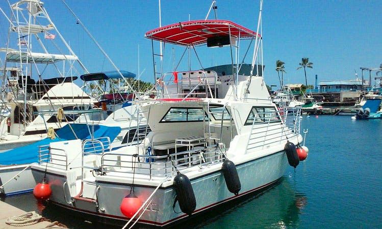 "Charter 36ft ""Maheli Heli"" Passenger Boat In Kailua-Kona, Hawaii"