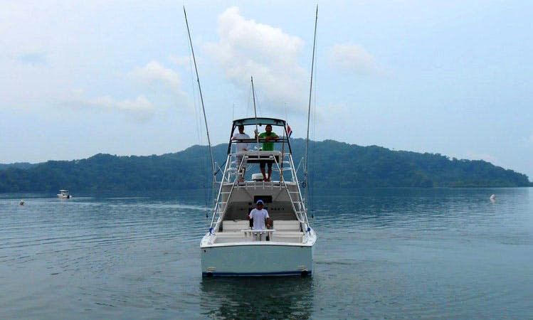 "Sport Fishing Charter on ""Boo-Lo"" in Golfito, Costa Rica"