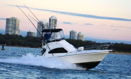Gold Coast Deep Sea Fishing Charter On 36ft