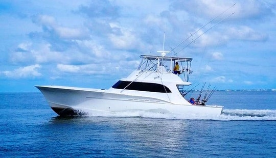 Hatteras Fishing Charter On 57ft