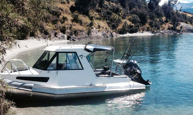 21' Kiwi Explorer Fishing Boat in Queenstown, New Zealand