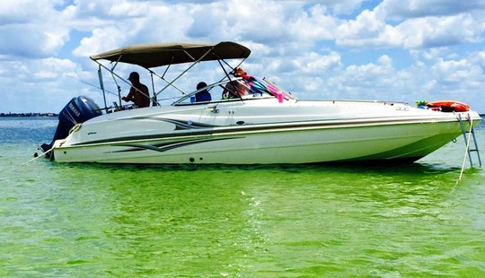 You Are The Captain Of This 24' Hurricane Spacious Deck Boat (insurance Is Included) (captain Available)