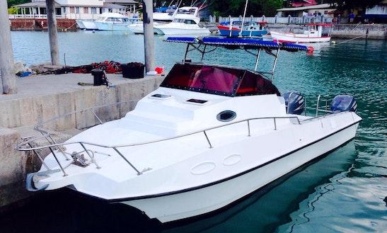 Power Catamaran Seychelles