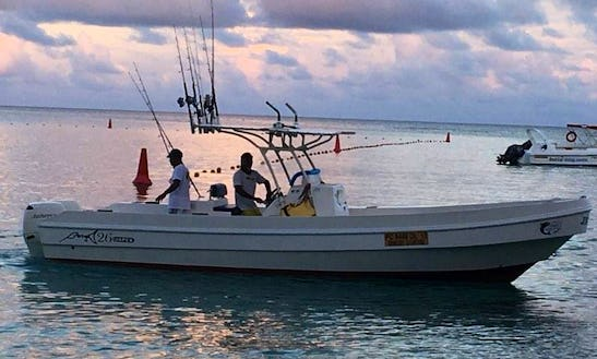 Enjoy Fishing In Grand Baie, Mauritius On 26' Center Console