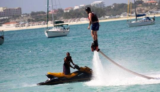 Enjoy Flyboarding In Simpson Bay, Sint Maarten